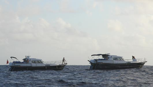 A hat trick of Russian-owned E4s crossed the Atlantic.